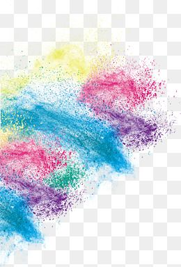 picture download Png images in watercolor. Vector color dust