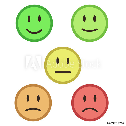 png Vector color face.  faces feedback mood
