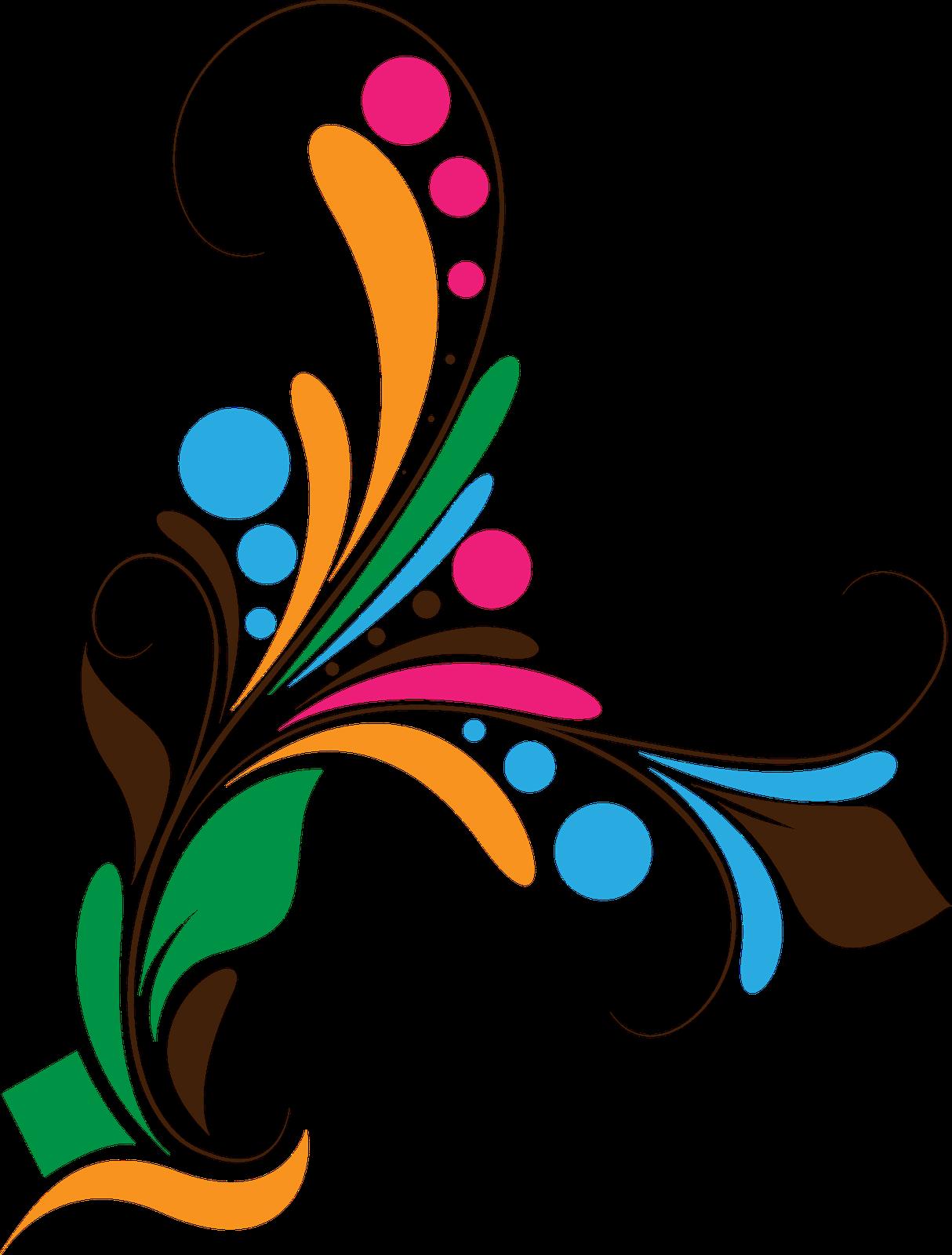 clip art freeuse stock Vector color floral.  formatting flower png.