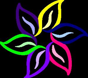 clip art stock Vector color floral. Multi flower clip art.