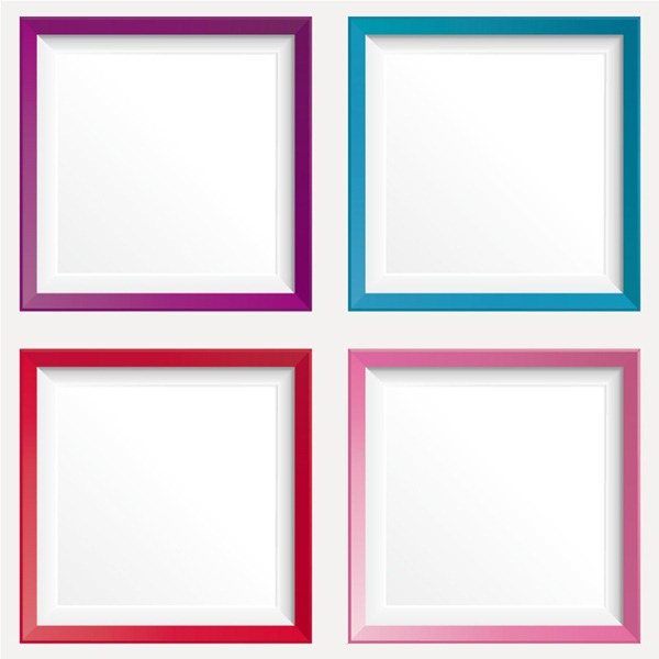 graphic transparent download Vector color frame.  design graphics my
