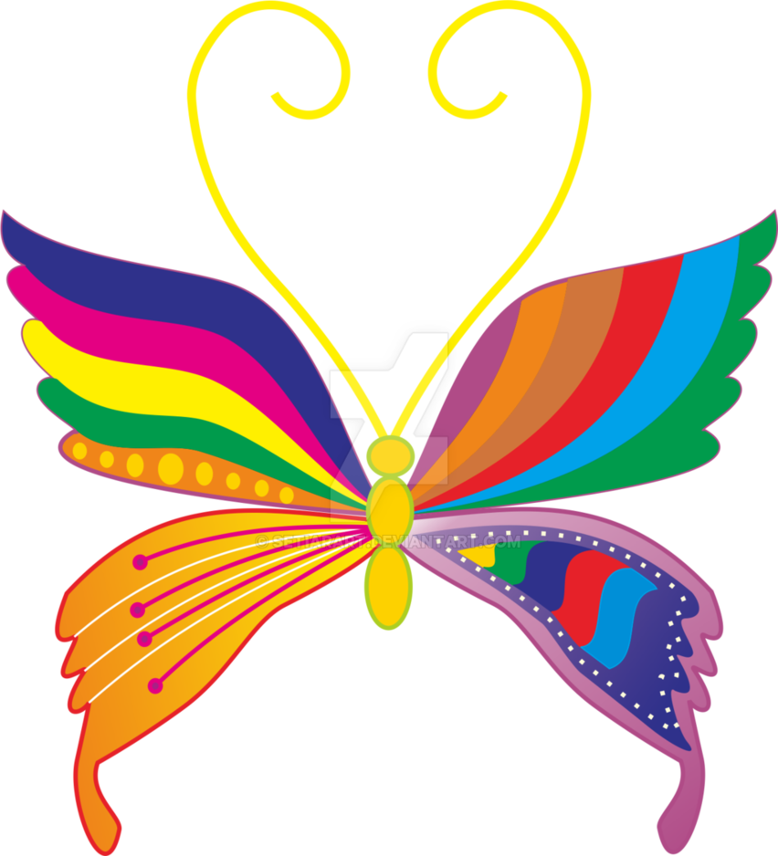 picture library library Vector color full. Butterfly by setiarart on