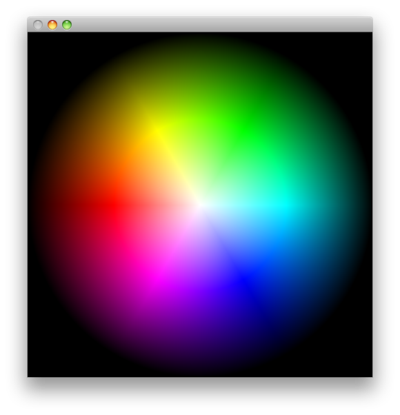 picture royalty free Radial hsb colorpicker of. Vector color gradient