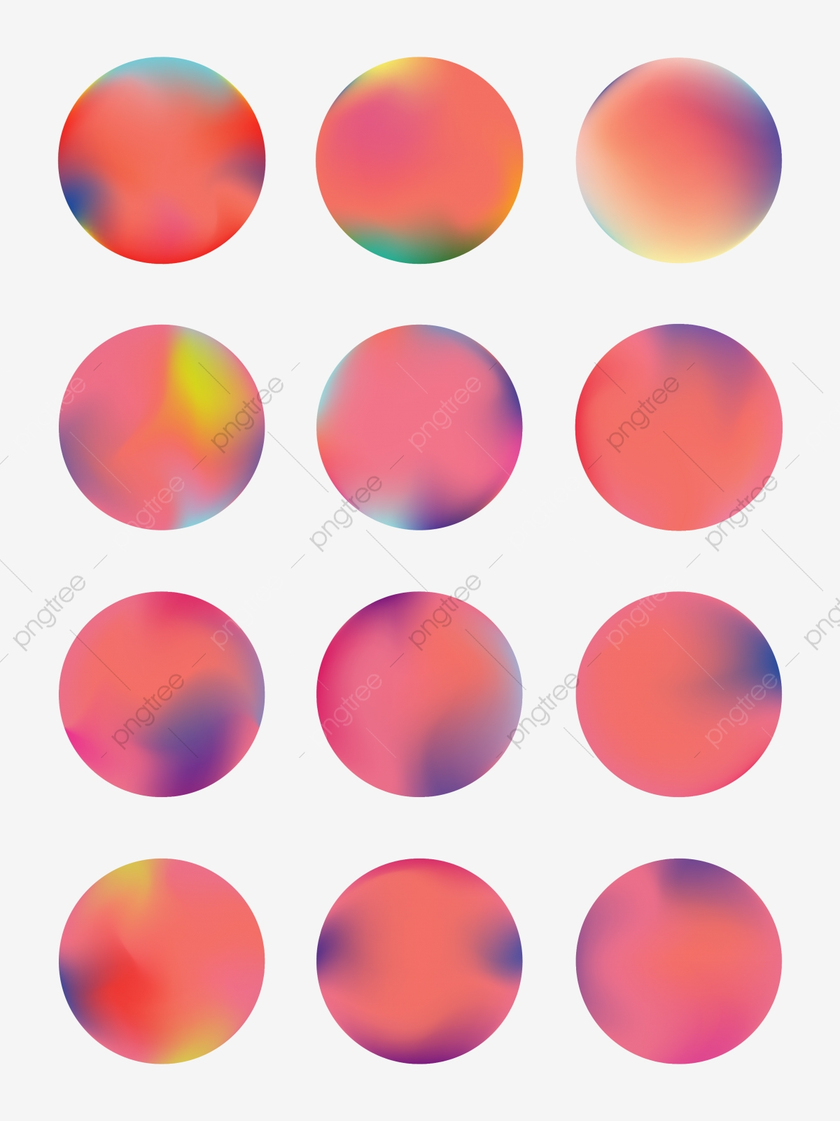 graphic freeuse download Coral red matching colour. Vector color gradient