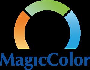 clip black and white library Magic ai free download. Vector color logo