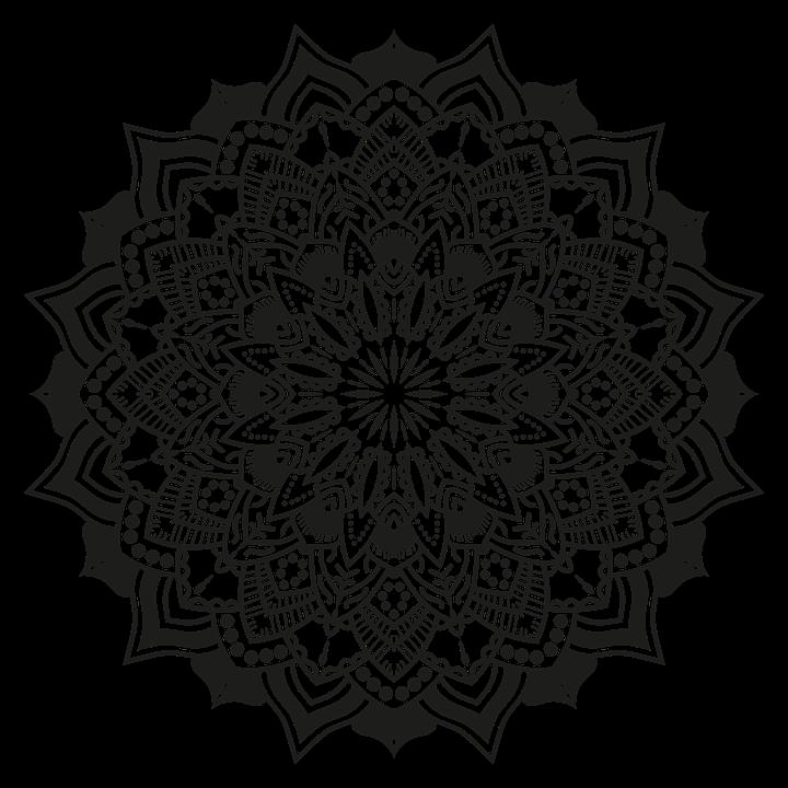 free Vector color mandala. Free photo texture floral