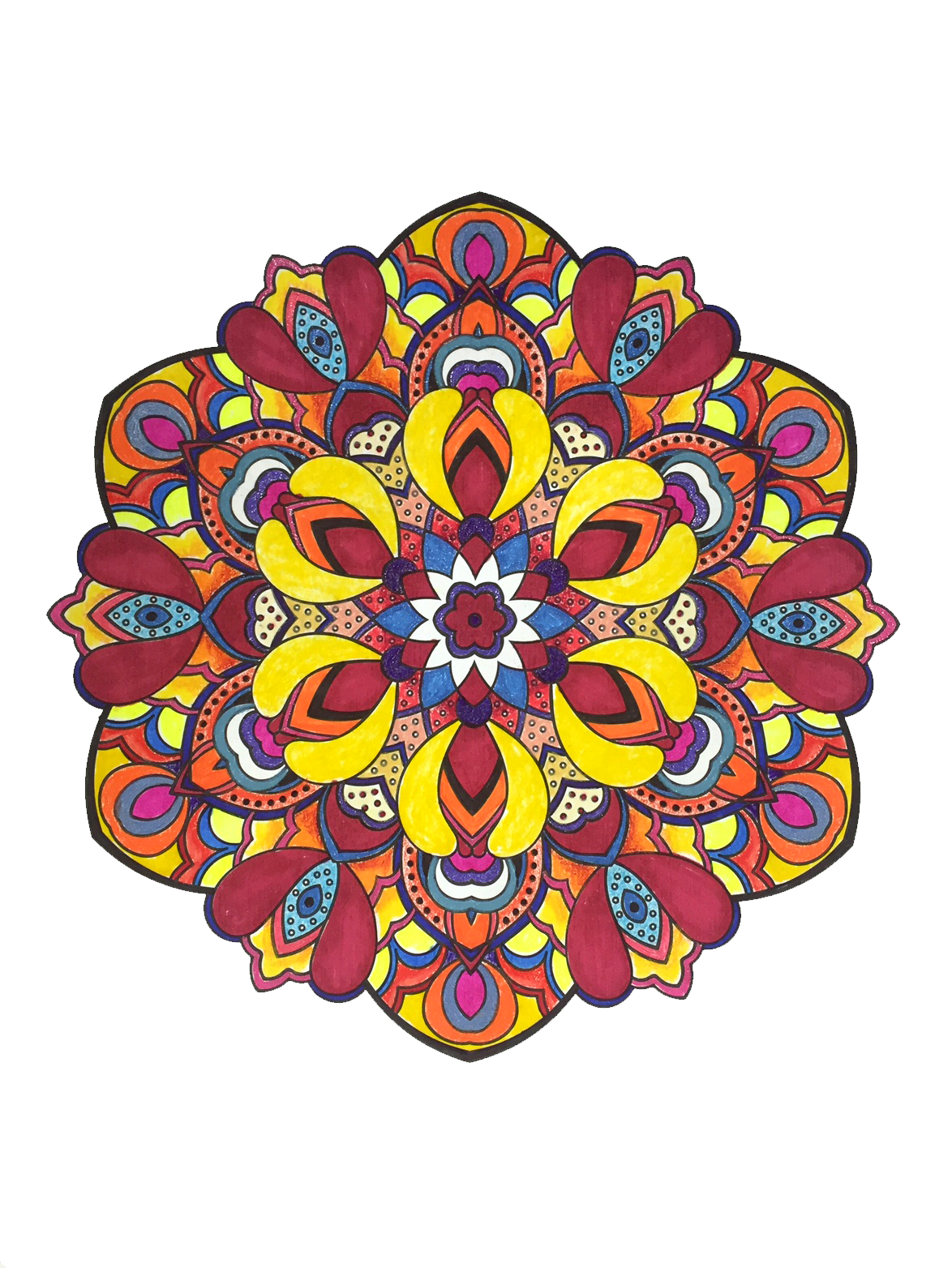 graphic download  colorful png for. Vector color mandala