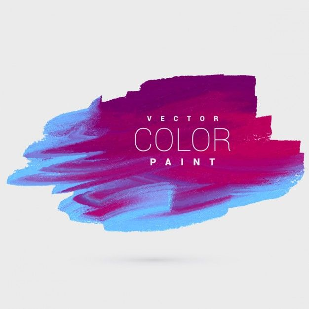 graphic free library Vector color painting. Colorful ink paint background