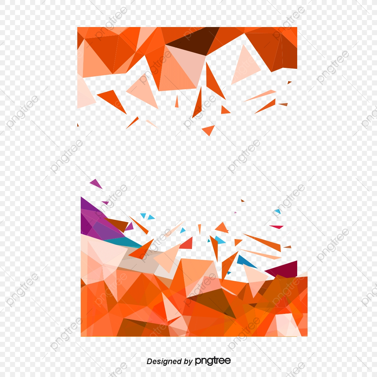 vector freeuse stock Vector color polygon. Low poster cover png.