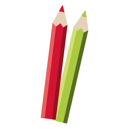 clip black and white library Pencils transparent png svg. Vector color red green