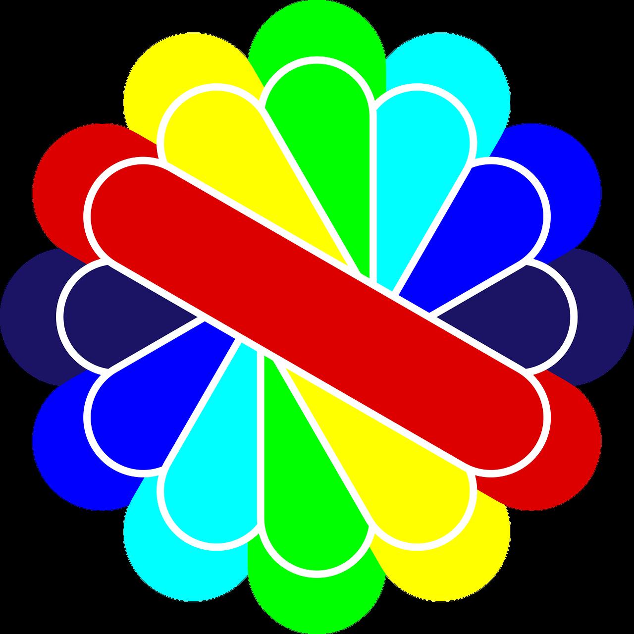 clip art black and white Logo icon symbol badge. Vector color retro