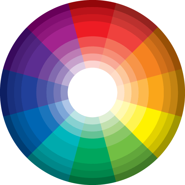 picture free Vector color ring. Picking a palette for