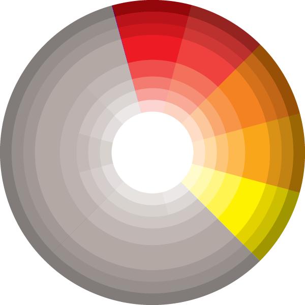 image transparent Picking a palette for. Vector color scheme