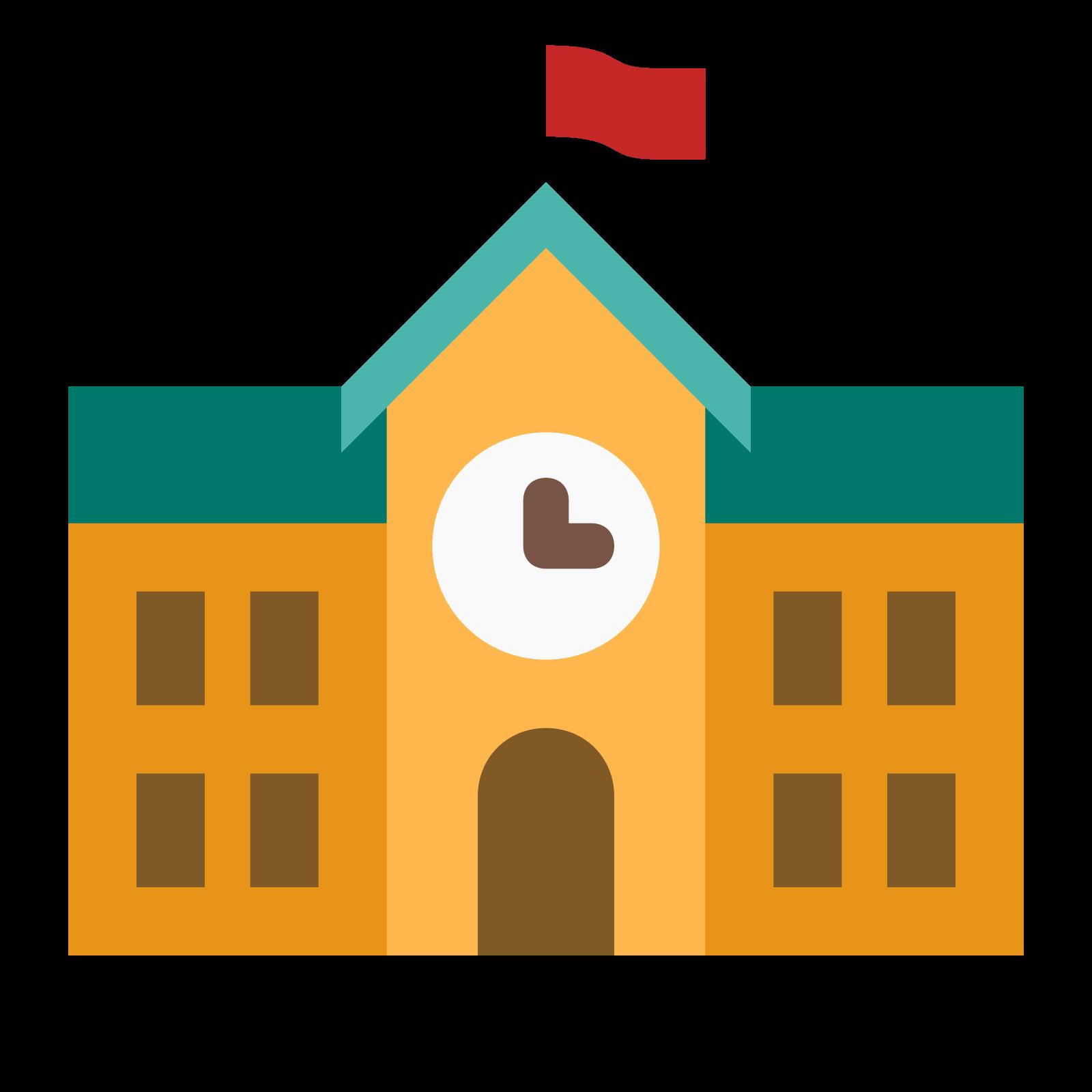 picture library library Building icono descarga gratuita. Vector color school