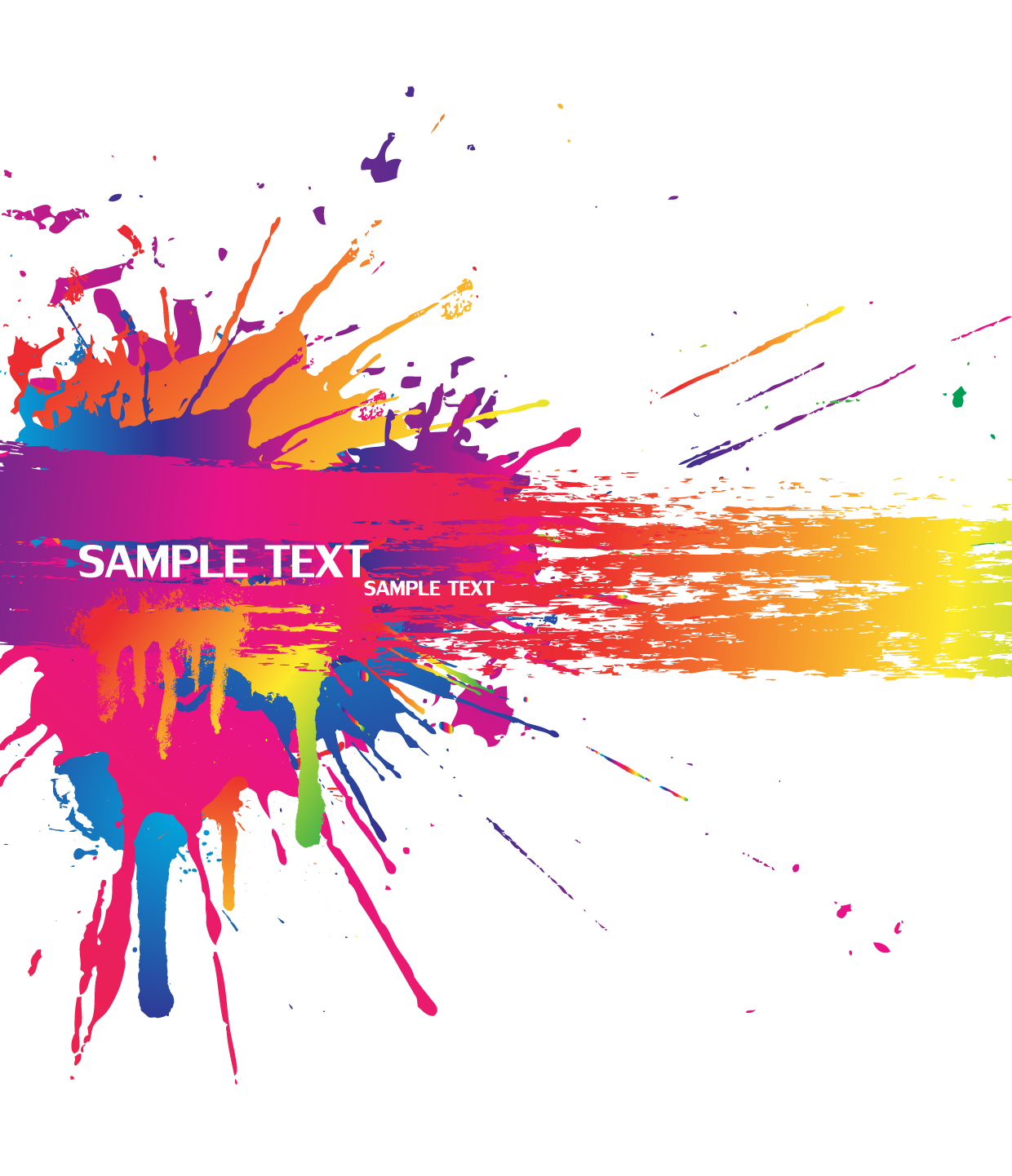 png freeuse Vector color splash. Background material transprent png