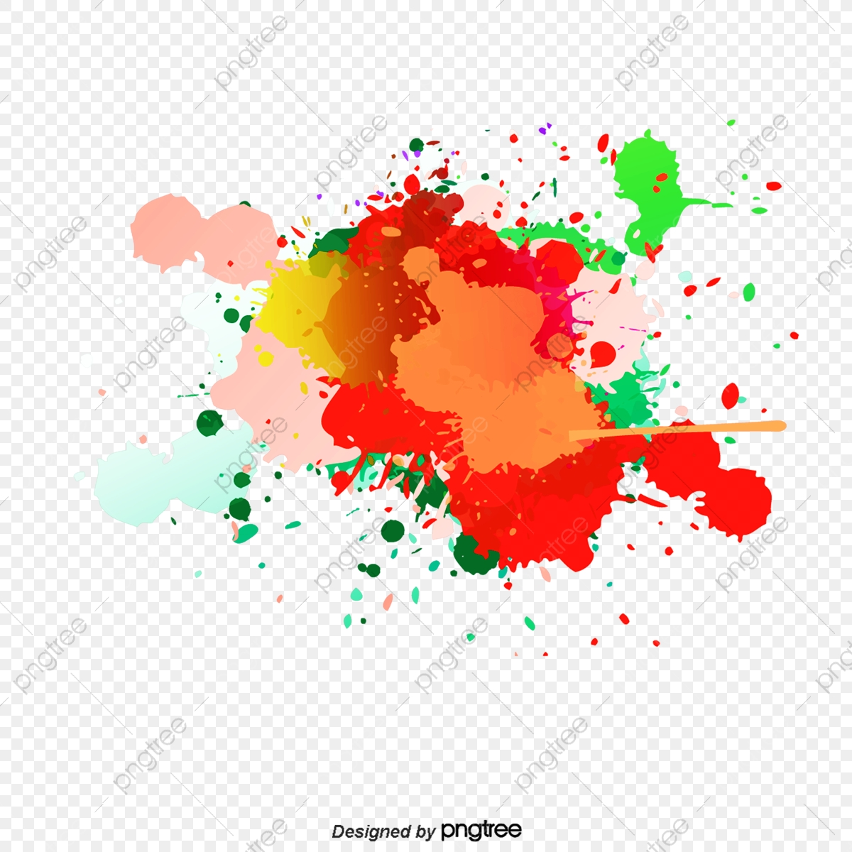 svg library Vector color splash. Background