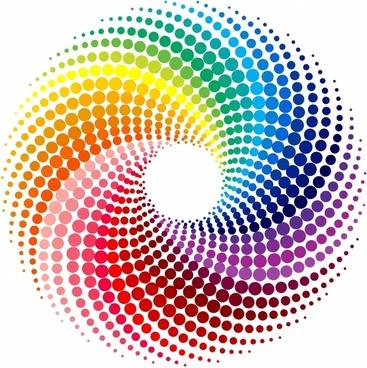 image transparent Multi swirls free download. Vector color swirl