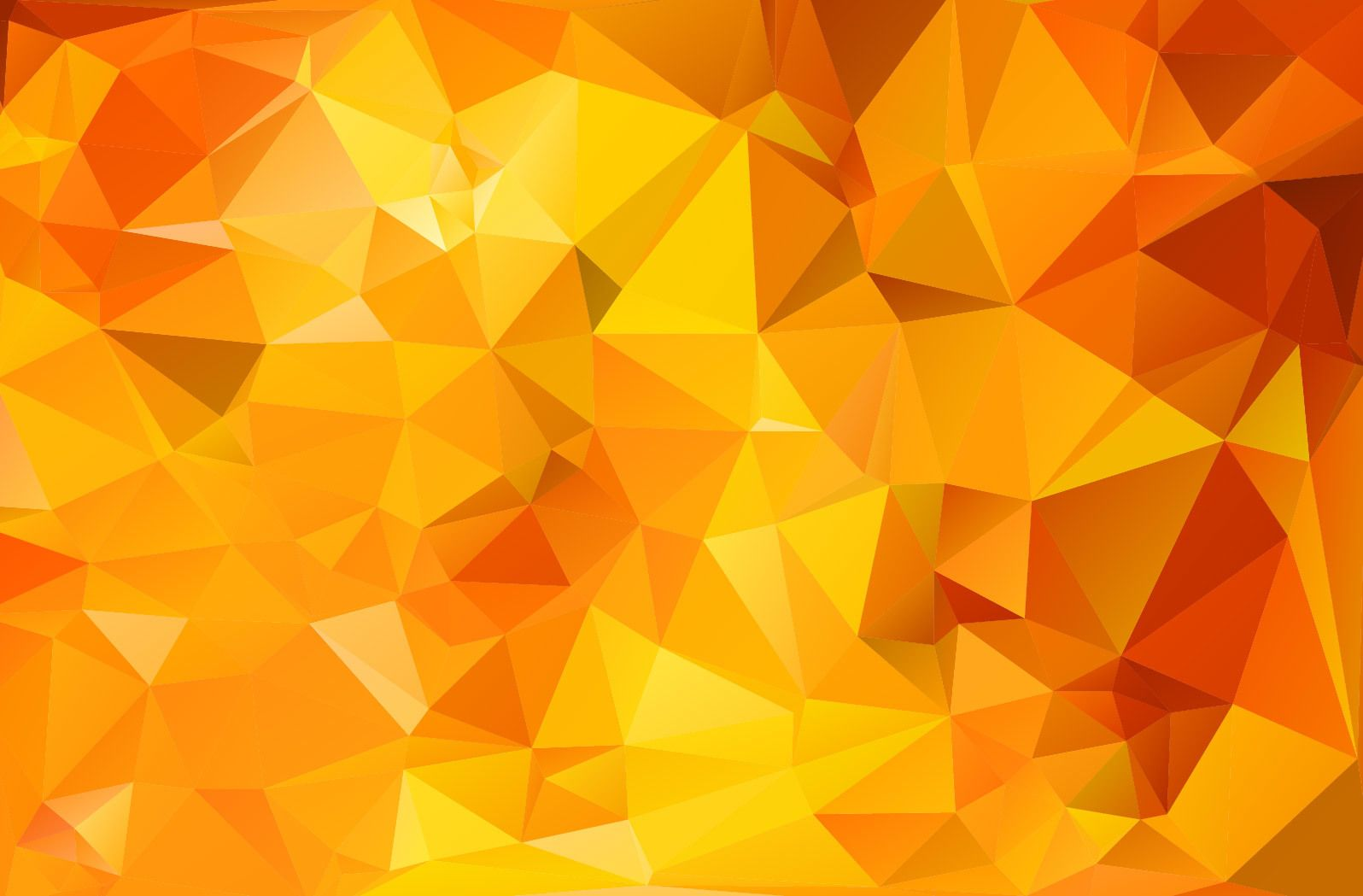 clipart library stock Vector color texture. Orange geometric polygonal triangle