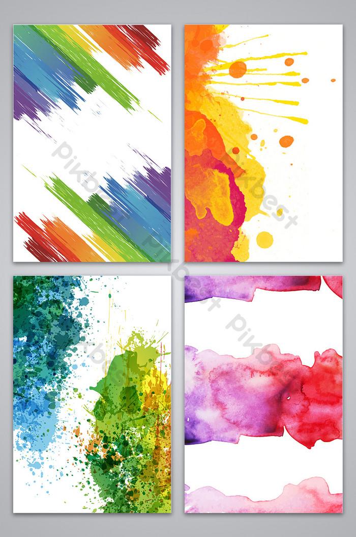 banner transparent download Vector color texture. Background backgrounds template cdr