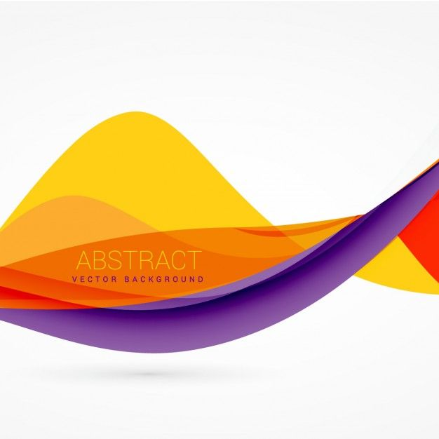 svg royalty free Purple and yellow background. Vector color wave