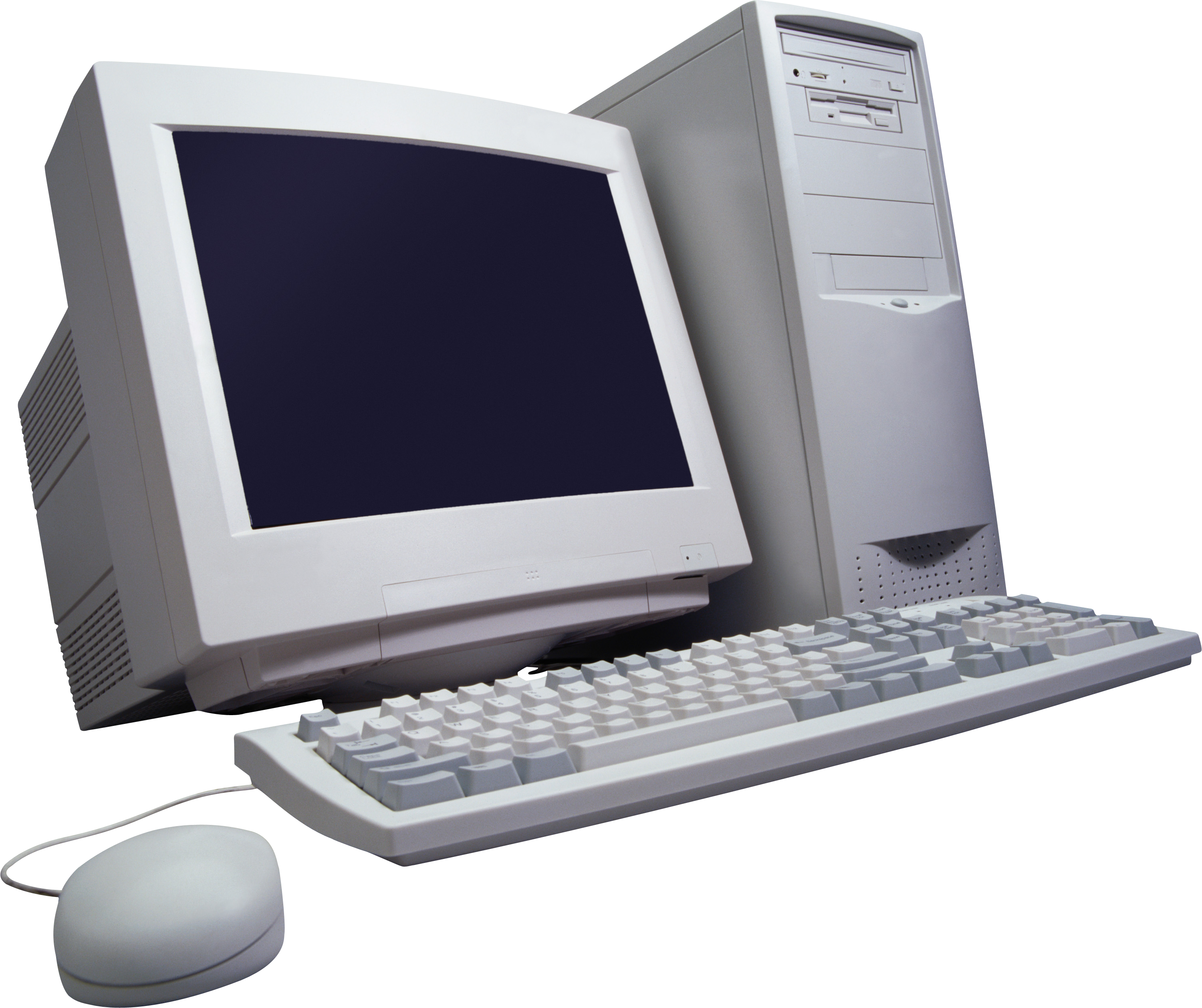 graphic freeuse stock Vector computer 80's. Old png pc free