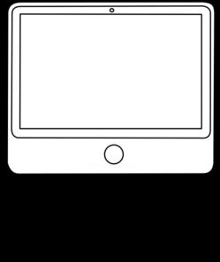 image download Clip art at clker. Vector computer black