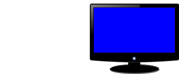 banner free stock Vector computer blue. Monitor clip art at