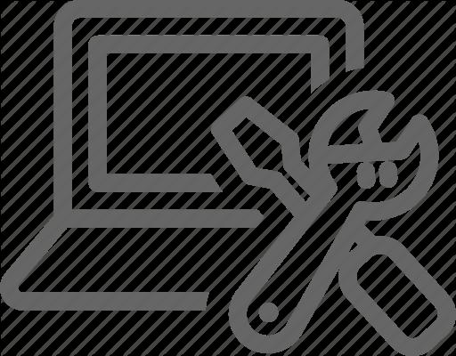 clip free Repair maintenance by nanmulti. Vector computer fix