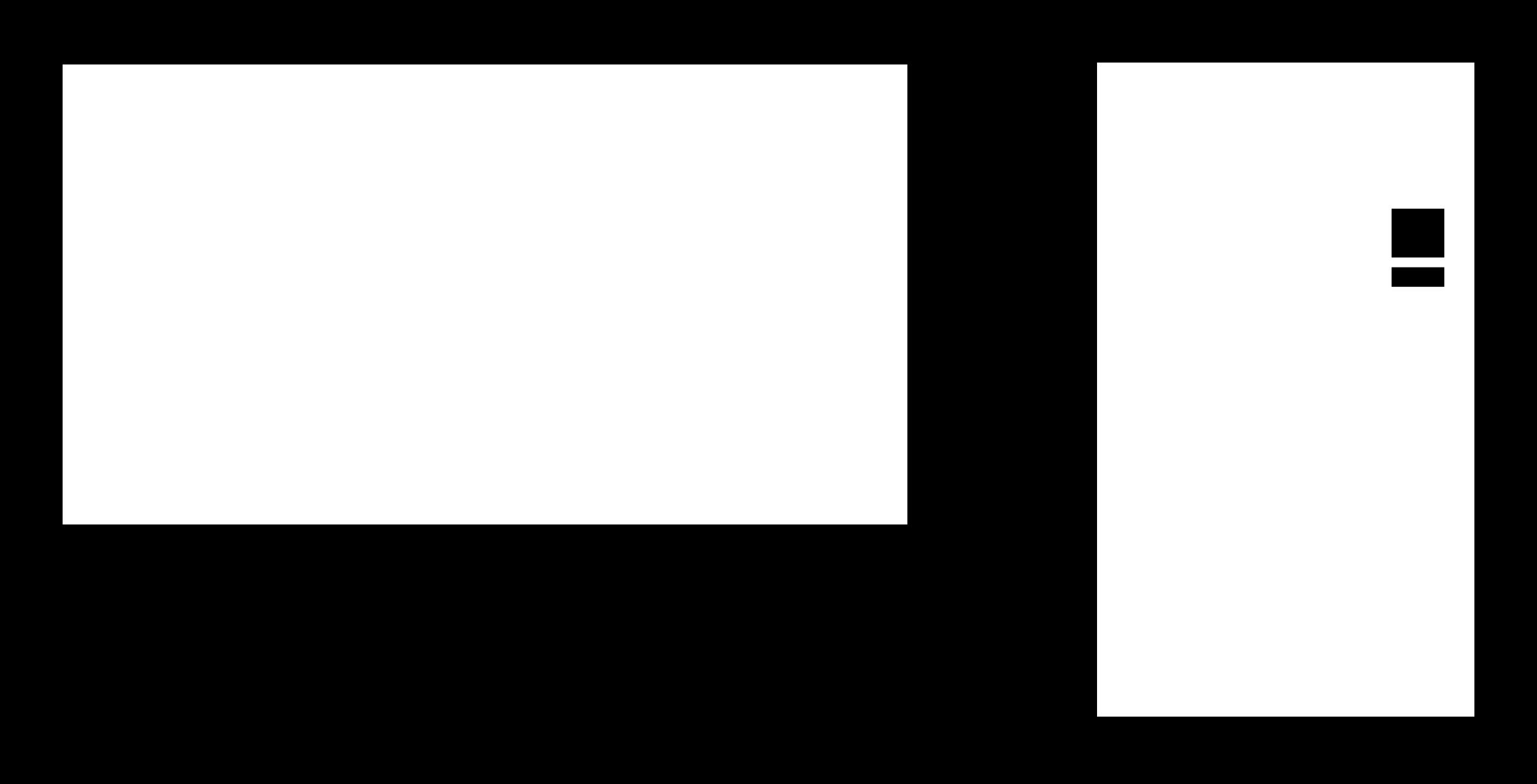 graphic transparent download Pc clipart cute borders. Vector computer minimalist