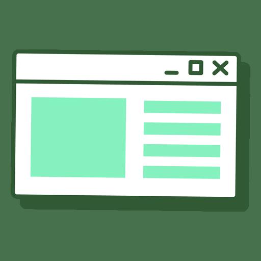 image free stock Window transparent png svg. Vector computer minimalist
