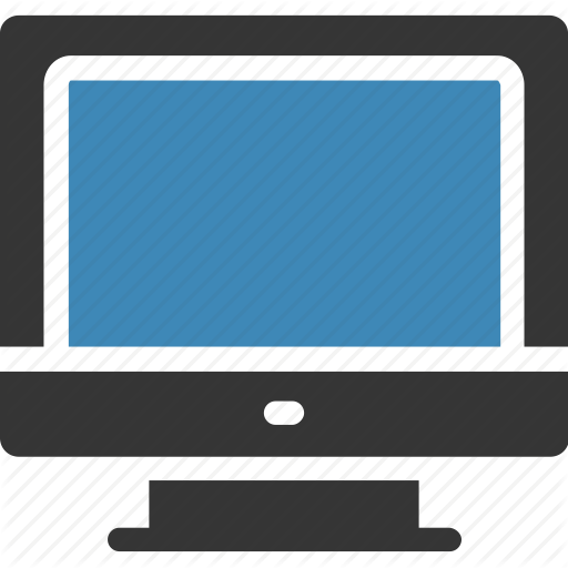 freeuse Vector computer monitor. Business by stall desktop