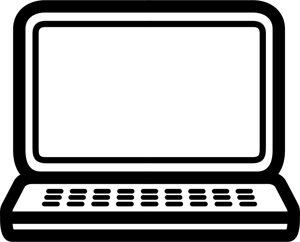 image library stock Vector computer outline.  png for free