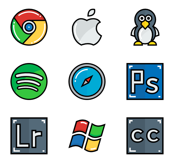 image library Software Icons