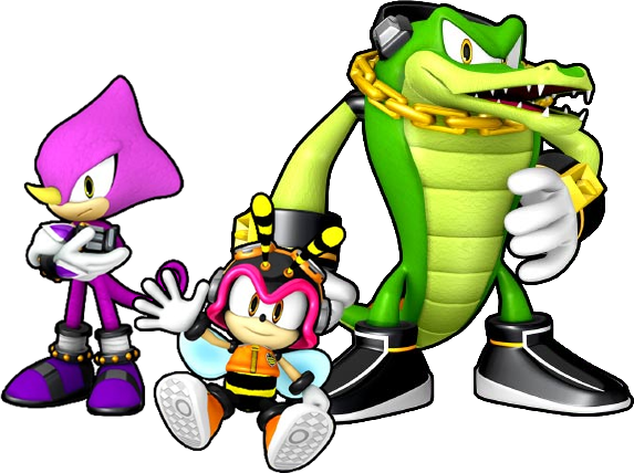 picture transparent download Team chaotix sonic news. Vector computer room