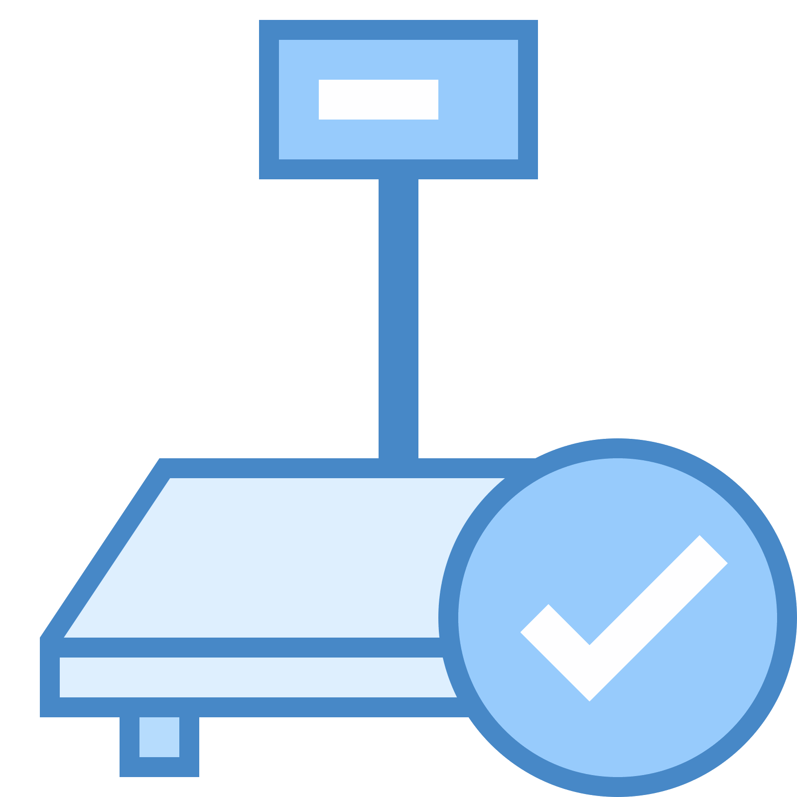 jpg transparent Vector computer side. Industrial scales connected icon
