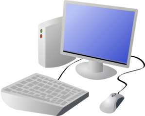 picture royalty free download Cartoon Computer And Desktop Clip Art at Clker