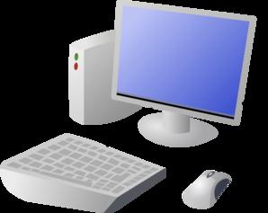 image free download Cartoon and desktop clip. Vector computer terminal