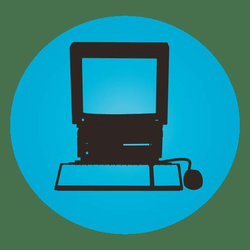 black and white Macintosh ilsi transparent png. Vector computer terminal