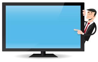 banner transparent download Flat free art downloads. Vector computer tv screen