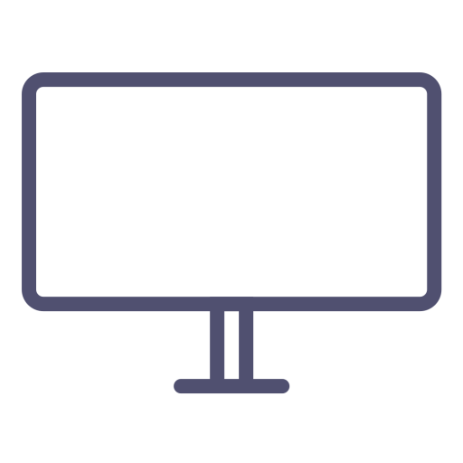 banner library stock Vector computer tv screen. Icons download free lineicon