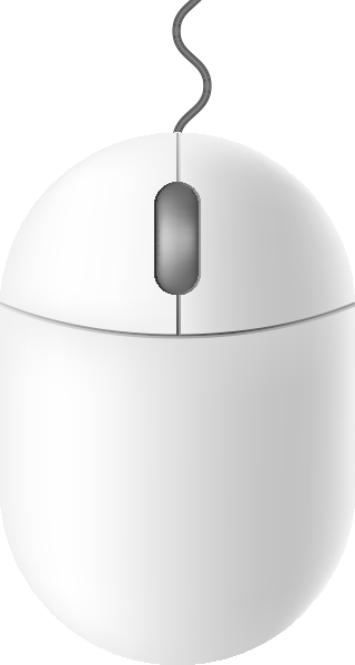vector library library Mouse icon free data. Vector computer white