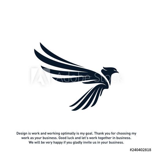 banner royalty free download Design template . Vector concepts eagle logo