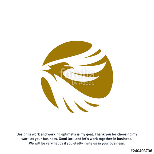 banner royalty free download Vector concepts eagle logo. Design template