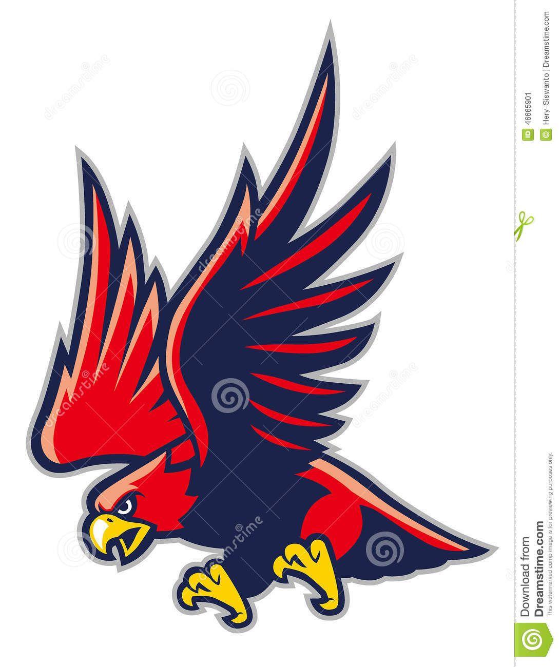 freeuse library Vector concepts hawk. Mascot hawks falcons logos