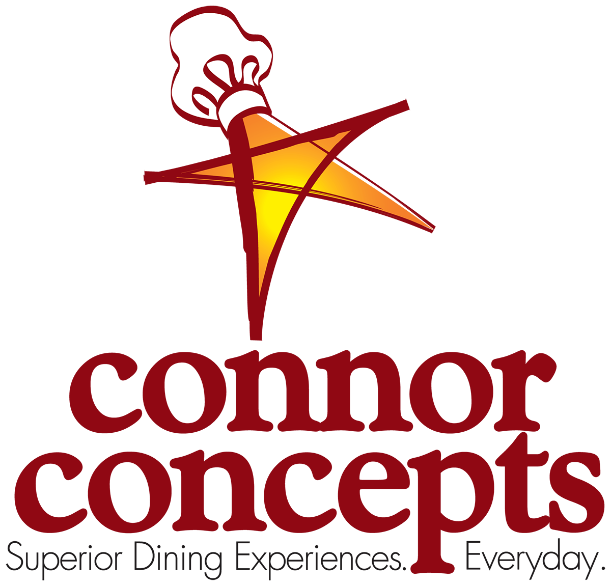 image free Vector concepts logo. Connor inc superior dining