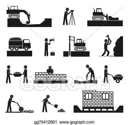 image freeuse Vector constructors builder. Art set of construction