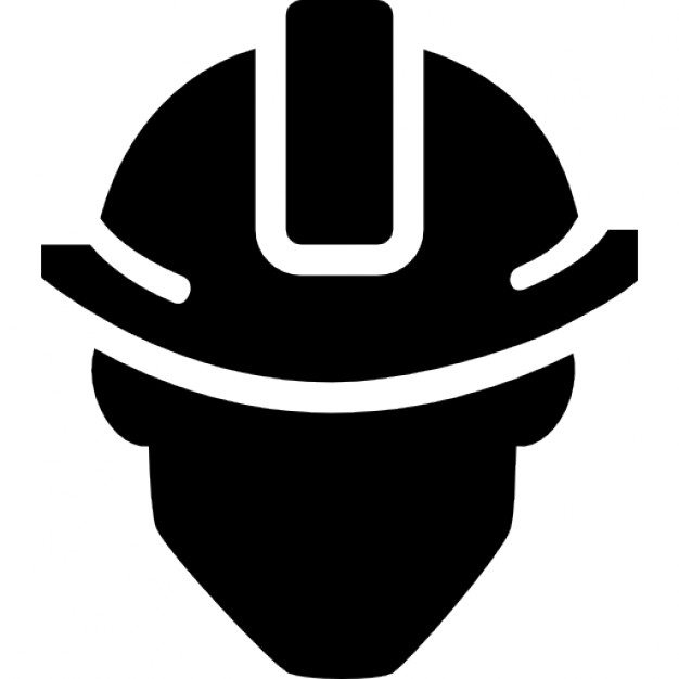 vector royalty free download Vector constructors builder. Construction hat icon free