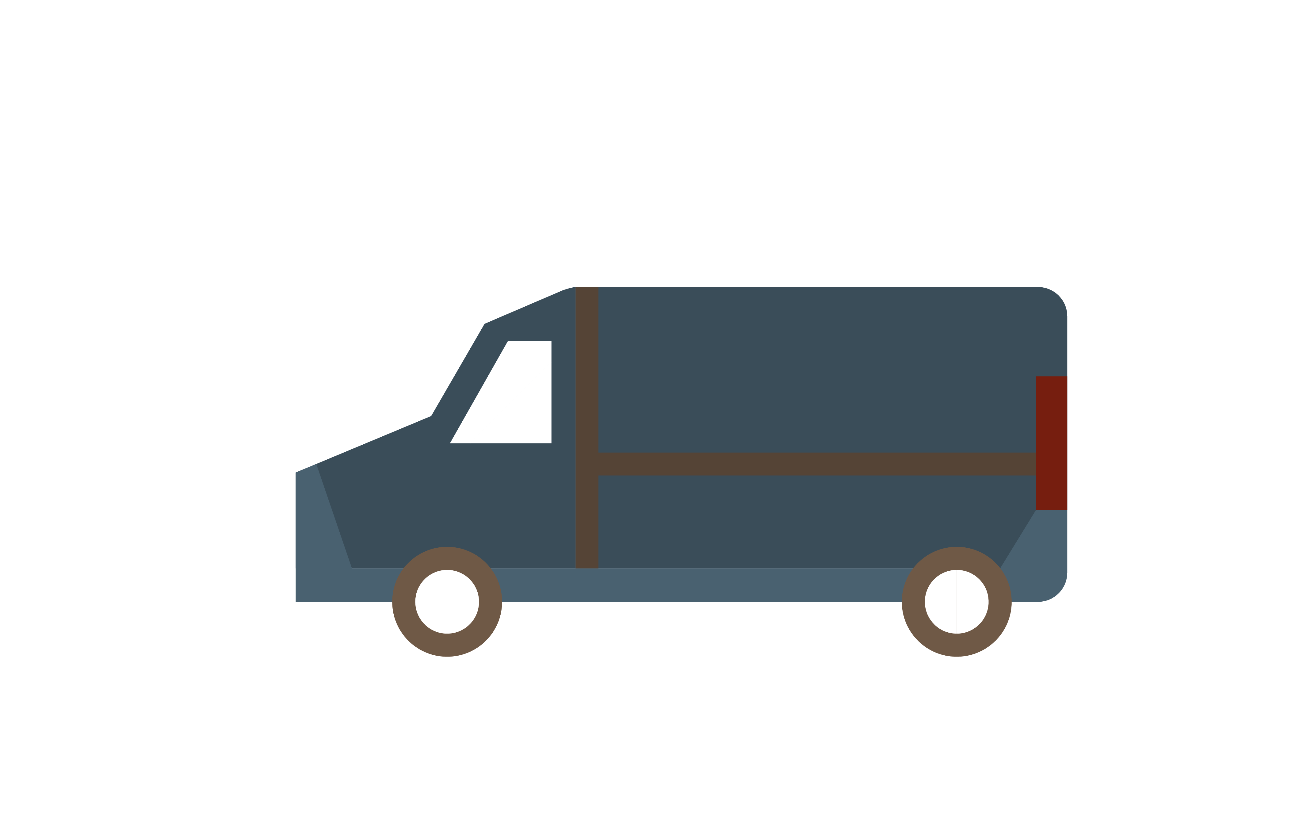 png freeuse Vector constructors commercial vehicle. Van material transprent png