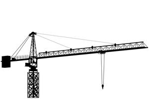 svg royalty free download Working with website page. Vector constructors crane