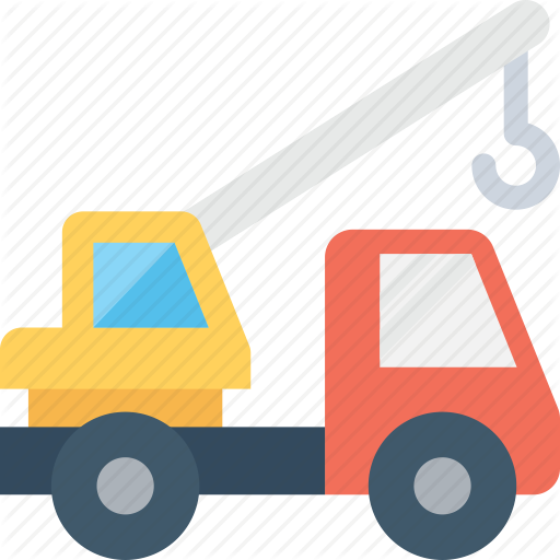banner black and white download Vector constructors excavator. Flat construction icons by